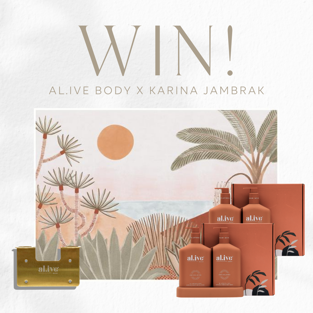 WIN an al.ive body + Karina Jambrak prize pack!