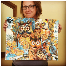 Load image into Gallery viewer, Vintage Owl