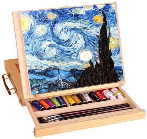 Wooden Drawing Board Easel