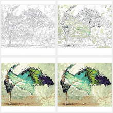 Load image into Gallery viewer, Green Ballerina - Just Paint By Numbers