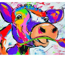 Load image into Gallery viewer, Colorful Cow #1