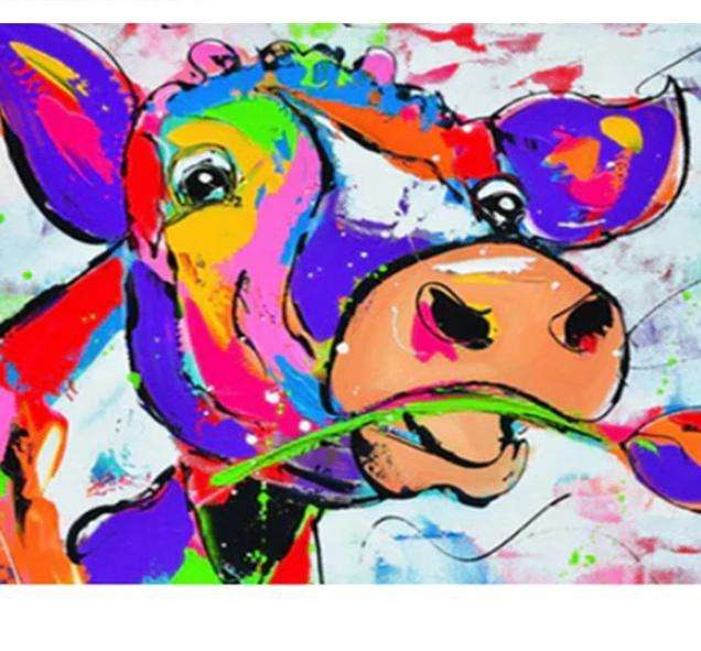 Colorful Cow #1