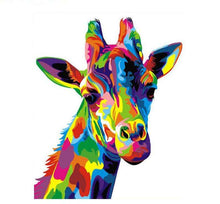 Load image into Gallery viewer, Colorful Girafe