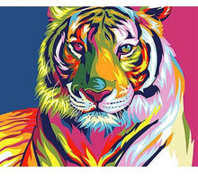 Load image into Gallery viewer, Colorful Tiger