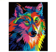 Load image into Gallery viewer, Colorful Wolf