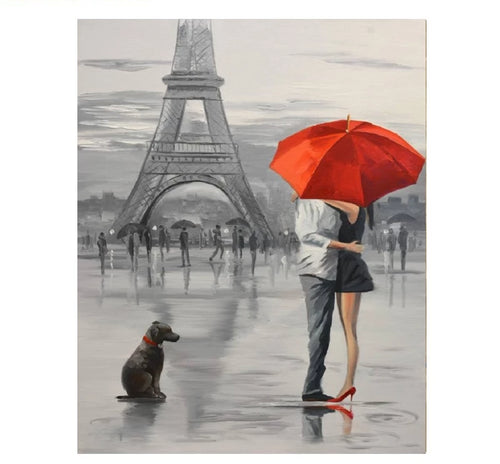 Paris love - Just Paint By Numbers