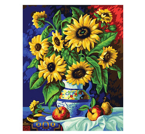 Sunflower - Just Paint By Numbers
