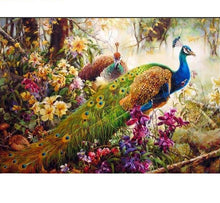 Load image into Gallery viewer, Peacock - Just Paint By Numbers