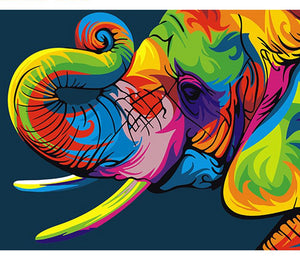 Elephant - Just Paint By Numbers