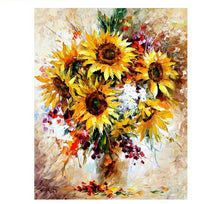 Load image into Gallery viewer, Sunflower Paint by Number