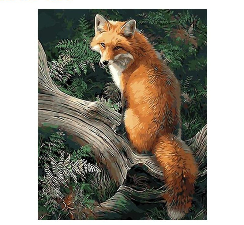 Fox - Just Paint By Numbers