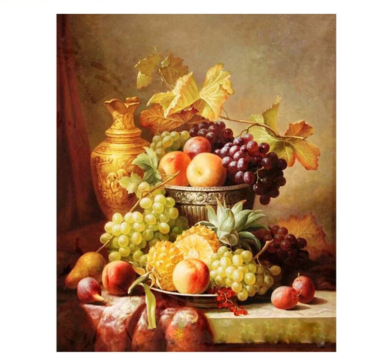 Fruits - Just Paint By Numbers