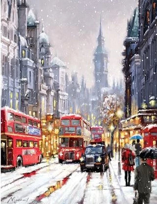 London Winter - Just Paint By Numbers