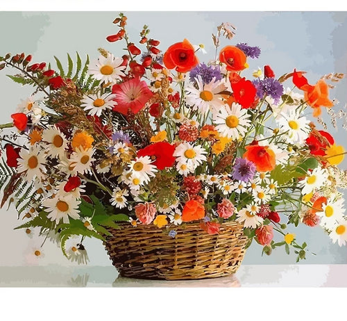 Flowers - Just Paint By Numbers