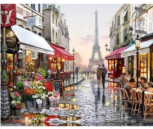 Paris - Just Paint By Numbers