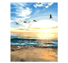 Load image into Gallery viewer, Seascape - Just Paint By Numbers