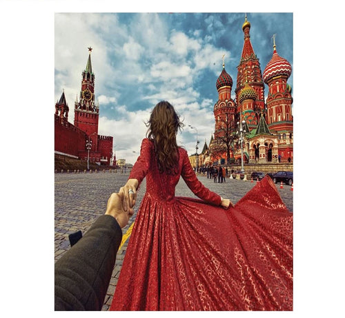 Red Square in Moscow - Just Paint By Numbers