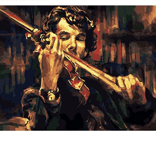 Sherlock's violin - Just Paint By Numbers