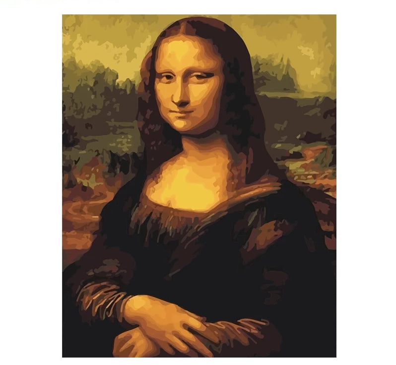 Mona Lisa - Just Paint By Numbers