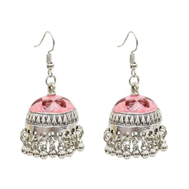 a8c21a86c ... Load image into Gallery viewer, Vintage Silver Bells Earrings ...