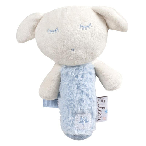 Chocalho peluche Eileen the Sleep Baby azul