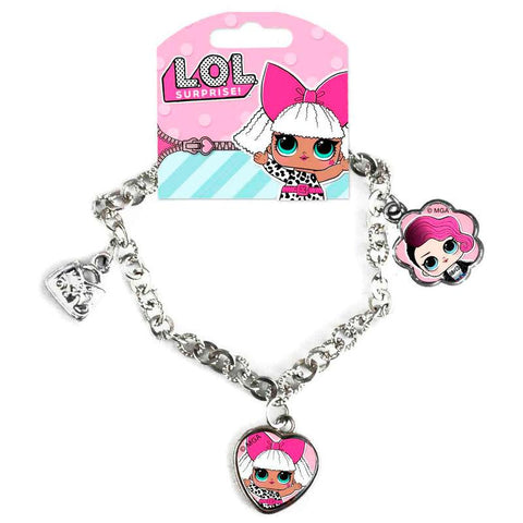 Pulseira LOL Surprise It's Fashion charms