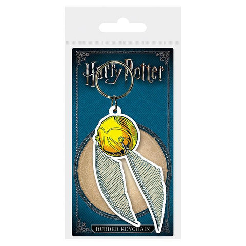 Porta-chaves golden Snitch Harry Potter
