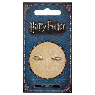 Brincos Golden Snitch Harry Potter