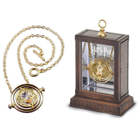 Colar Time-Turner Hermione Granger Harry Potter em Expositor