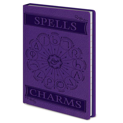Bloco A6 Spells & Charms Harry Potter