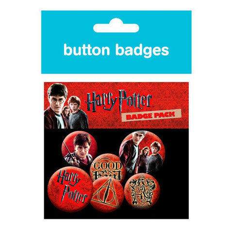 Set Pins Harry Potter