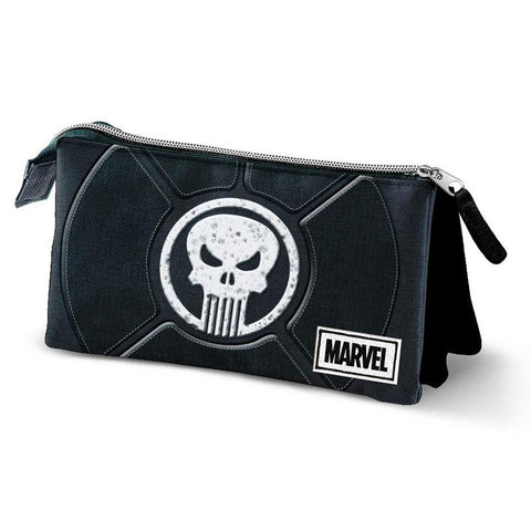 Estojo Punisher Marvel triplo