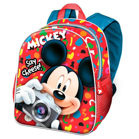 Mochila Mickey Disney Say Cheese 30cm
