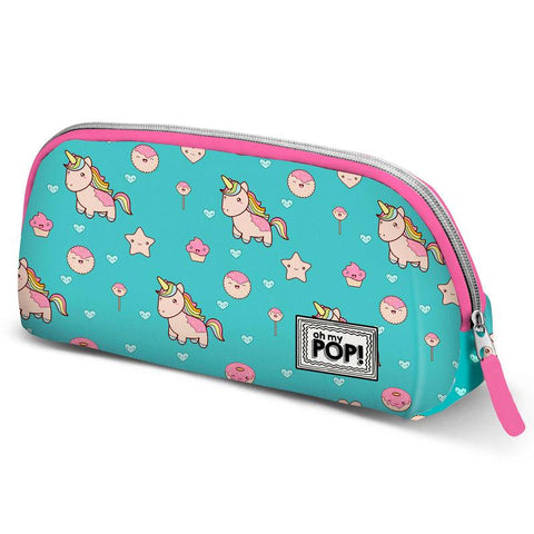 Bolsa Necessaire Oh My Pop Unicorn Blue