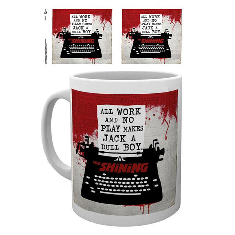 Caneca The Shining Typewriter