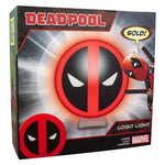 Candeeiro logo Deadpool Marvel