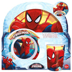 Conjunto de melamina Spiderman Marvel