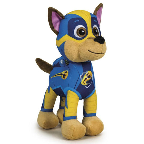 Peluche Chase Patrulha Pata Paw Patrol Mighty 22cm