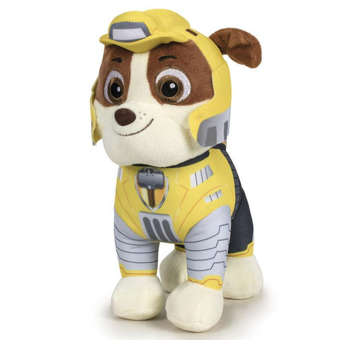 Peluche Rubble Patrulha Pata Paw Patrol Mighty 20cm