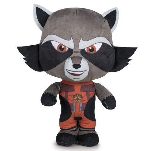 Peluche Rocket Guardiões da Galaxia Marvel 29cm
