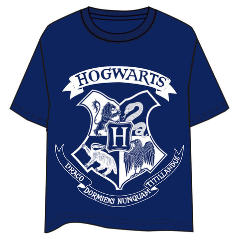T-Shirt Hogwarts Harry Potter adulto M