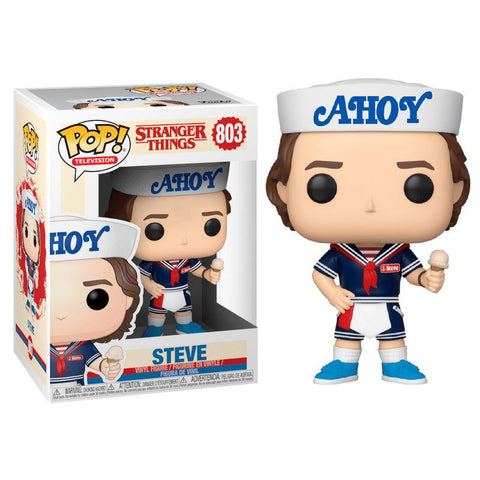 Figura POP Stranger Things 3 Steve with Hat and Ice Cream