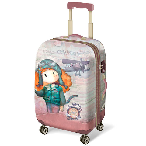 Mala trolley ABS Ninette Atlantic 4r 54cm