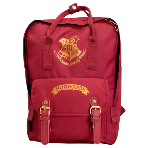 Mochila Hogwarts Harry Potter red 35cm