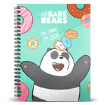 Caderno A5 Urso Panda We Bare Bears