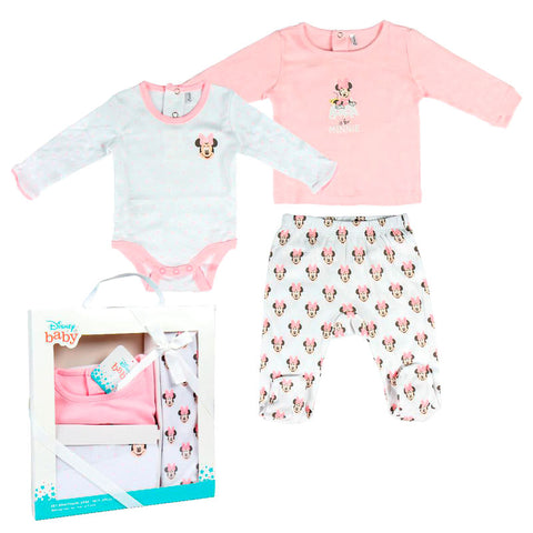Pack oferta bebe Minnie Disney