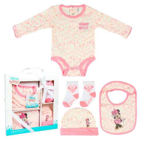 Pack Oferta benvinda bebe Minnie Disney