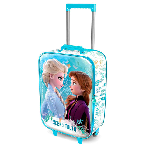 Mala trolley 3D Frozen 2 Seek Disney 52cm