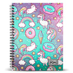 Caderno A4 Oh My Pop Dream