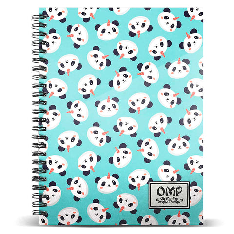 Caderno A4 Oh My Pop Pandicorn